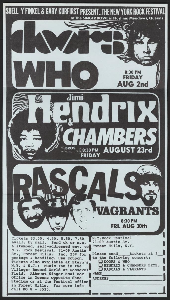 NY Rock Festival 1968