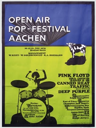 Aachen Open Air Pop Festival 1970 Festivival