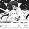 Thunderbird Peace Festival 1969 Poster by Bob Masse