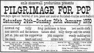Pilgrimage For Pop Festival 1970