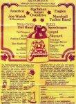 Ozark Music Festival 1974 poster