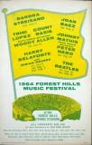 Forest Hills Music Festival 1964 Poster