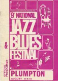 National Jazz Blues Festival 1969 Poster