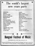 Bungool Festival of Music 1972