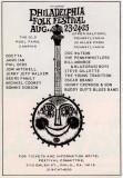Philadelphia Folk Festival 1968 Poster