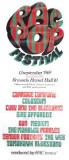 RAC POP Festival 1969 Poster
