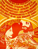 Big Sur Folk Festival 1969 Poster Artwork by Bob Muson