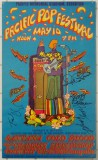Pacific Pop Festival 1969, Artwork by Carson-Morris Studios