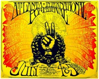 Atlanta International Pop Festival 1969 poster
