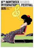 Montreux Jazz Festival 1976 -Artwork by Milton Glaser