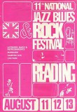 National Jazz Blues Rock Festival 1972 Poster