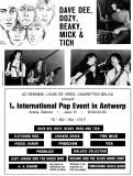 1st International Pop Event Poster