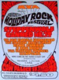SF Holiday Rock Festival 1968 Poster
