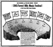 Forest Hills Music Festival 1965 Poster