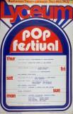 Lyceum Pop Festival 1971 Poster