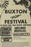 Buxton Pop Festival 1973 Poster