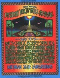 First Annual Detroit Rock and Roll Revival 1969 Poster - Artwork by Gary Grimshaw