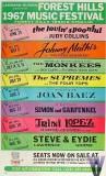 Forest Hills Music Festival 1967 Poster