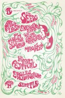 Seattle Trips Festival March 1967 Poster