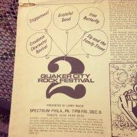 2nd Quaker City Fest 1968 adv
