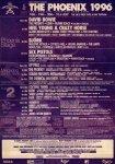 Phoenix Festival 1996 Poster