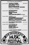 The Singer Bowl Music Festival 1969