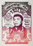 Muhammad Ali Festival 1967 Poster Artwork by Gomez