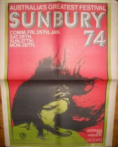 Sunbury Pop 1974