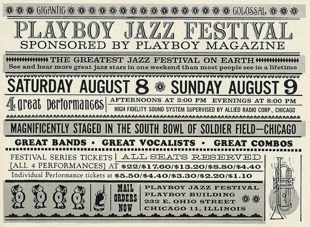 Playboy Jazz Festival 1959