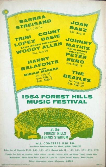 Forest Hills Music Festival 1964