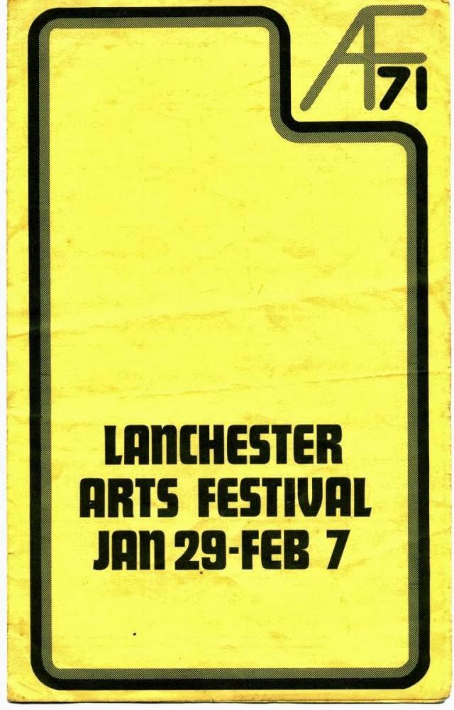 Lanchester Arts Festival 1971