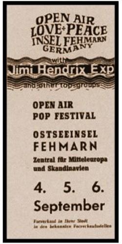 Open Air Love & Peace Festival 1970