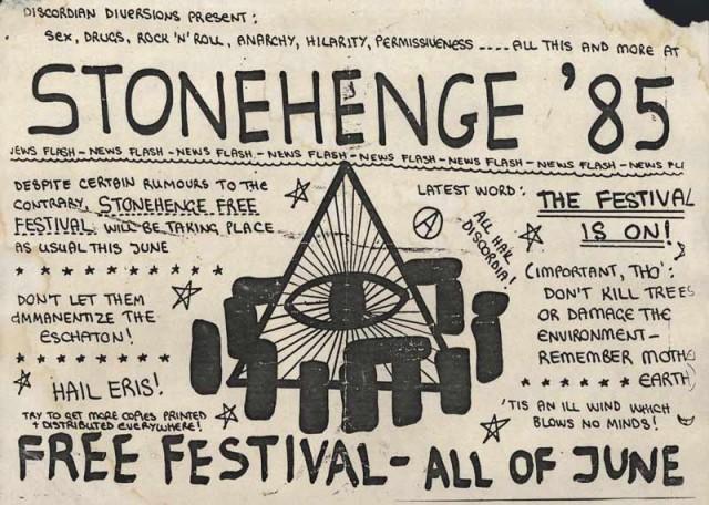 Stonehenge Free Festival 1985