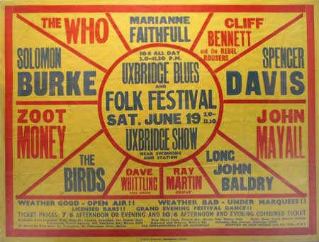 Uxbridge Blues & Folk Festival 1965