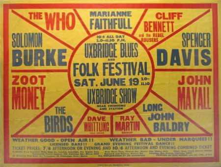 Uxbridge Blues & Folk Festival 1965