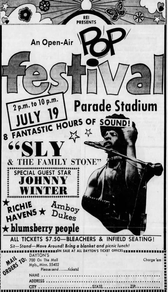 An Open-Air Pop Festival 1970