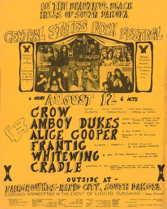 Central States Rock Festival 1970