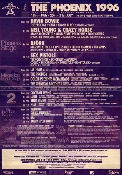 Phoenix Festival 1996