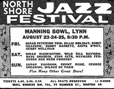North Shore Jazz Festival 1957