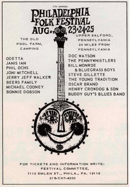 Philadelphia Folk Festival 1968