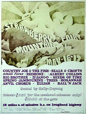 Strawberry Mountain Fair 1970