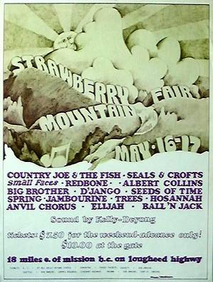 Strawberry Mountain Fair 1970