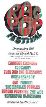 RAC POP Festival 1969