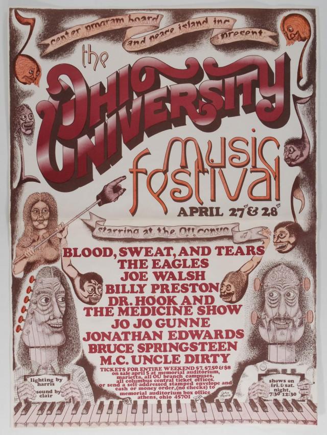 Ohio University Music Festival 1973