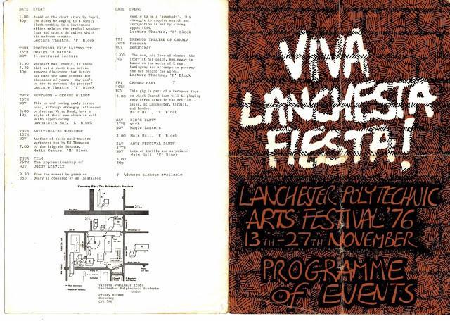 Lanchester Arts Festival 1976