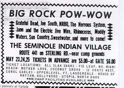Big Rock Pow-Wow 1969