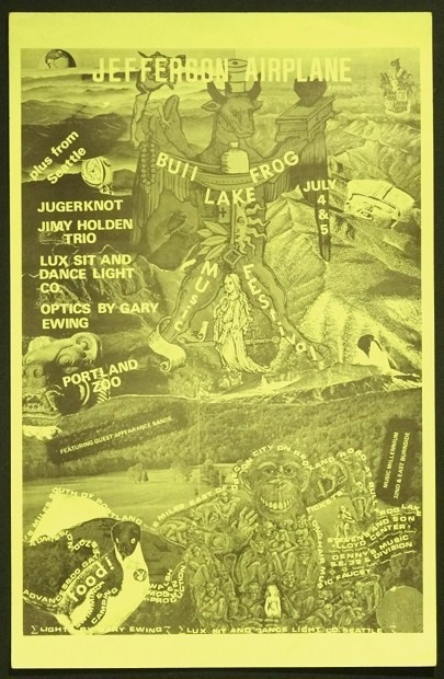 Bull Frog Lake Rock 1969