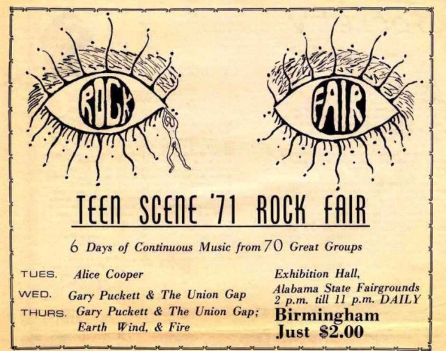 Teen Scene 1971 Rock Fair