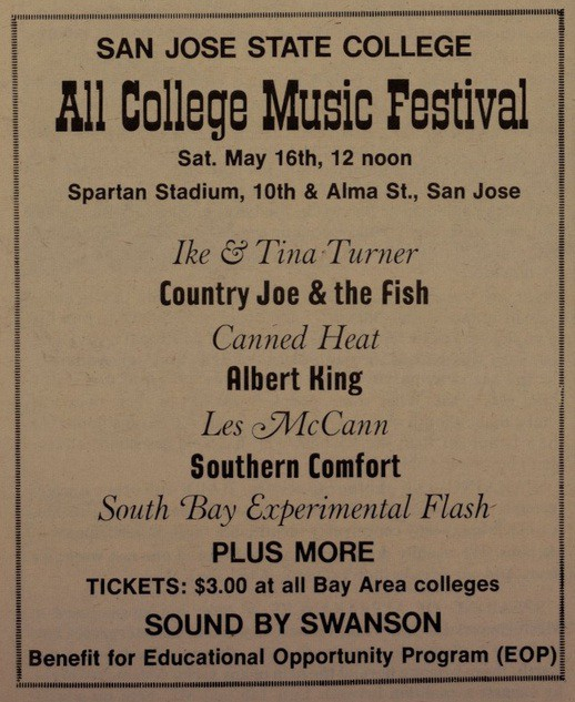All College Music Festival 1970
