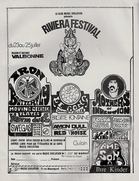 Festival de Valbonne 1970